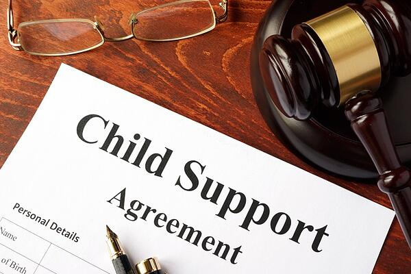 colorado child support agreement on judge's desk