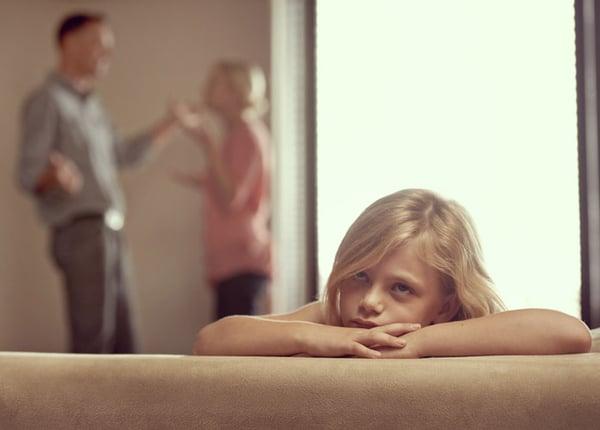 divorcing parents minor