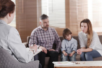 Family Divorce Counseling Session