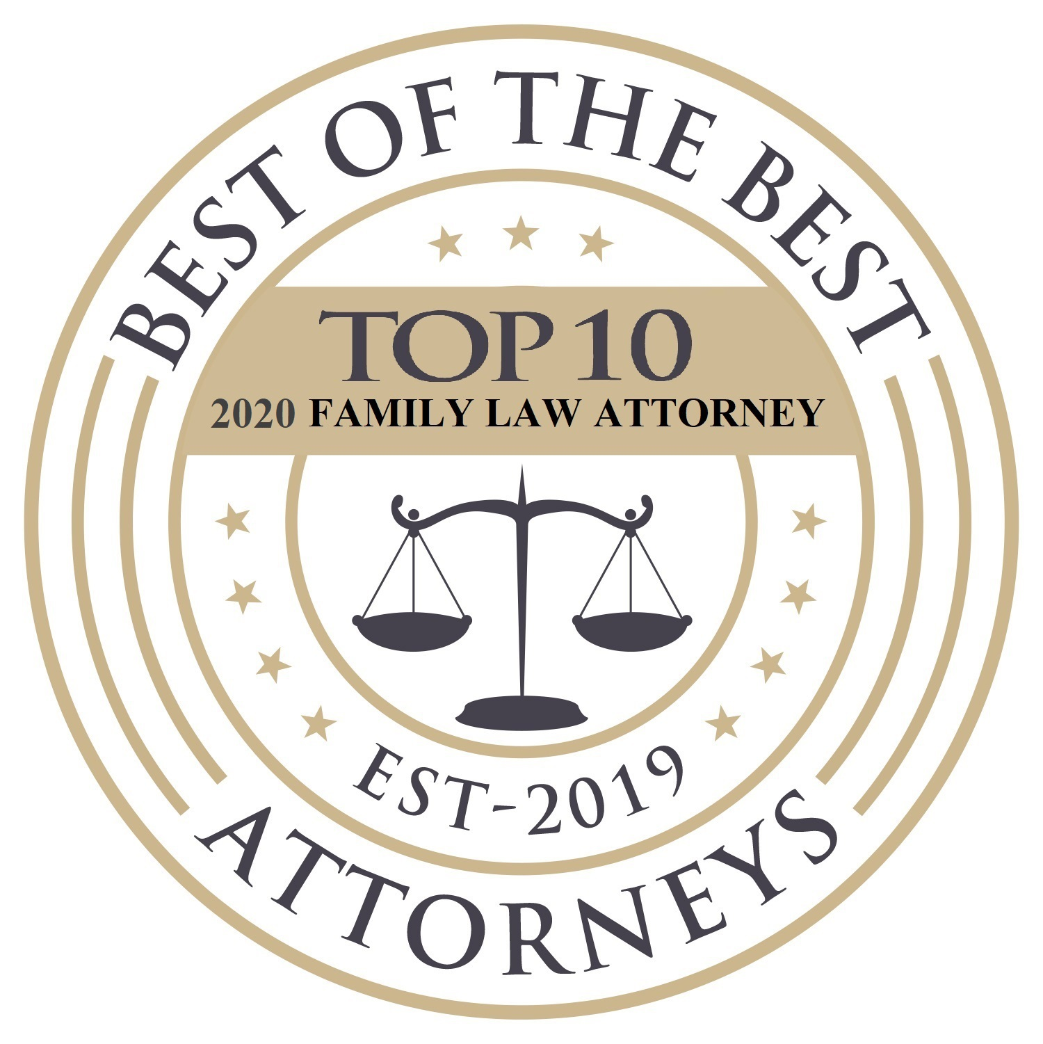 Best of the Best Attorneys Family Law 2020