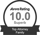 Avvo Rating Top Attorney Family