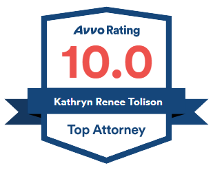 Avvo Rating 10.0 - Kathryn Renee Tolison