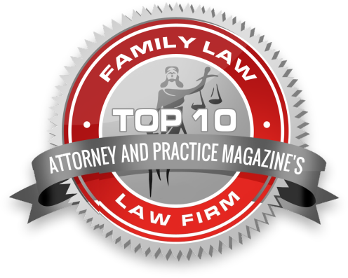 Top 10 Family Law Award - Attorney and Practice Magazine